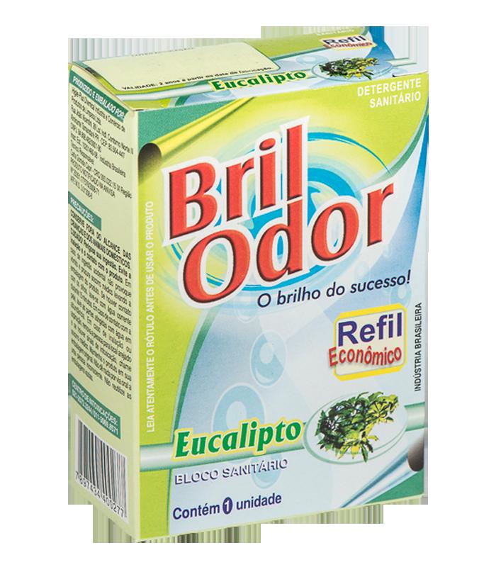 REFIL BLOCO SANITÁRIO BRIL ODOR EUCALIPTO