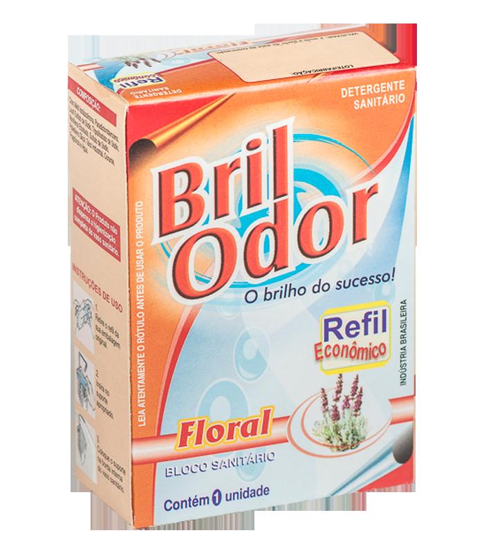 REFIL BLOCO SANITÁRIO BRIL ODOR FLORAL
