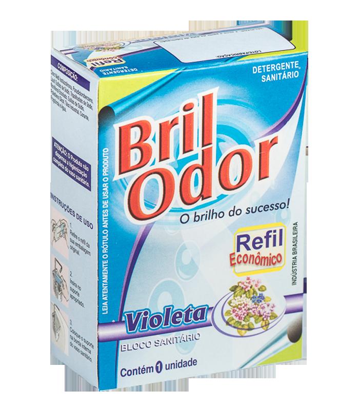REFIL BLOCO SANITÁRIO BRIL ODOR VIOLETA